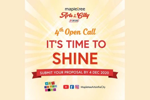 4th Open Call: Mapletree Arts in the City on Air