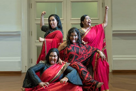 Goddesses of Words - Angry Indian Women