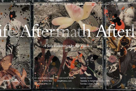 Life Aftermath Afterlife, A Solo Exhibition by Art Sanchez