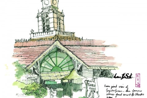 Artspace@SCCC: Uncles Love Monuments (Urban Sketching Exhibition)