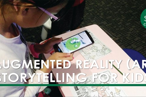 Augmented Reality (AR) Storytelling for Kids