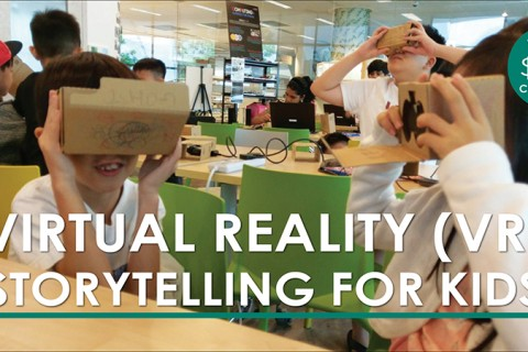 Virtual Reality (VR) Storytelling for Kids