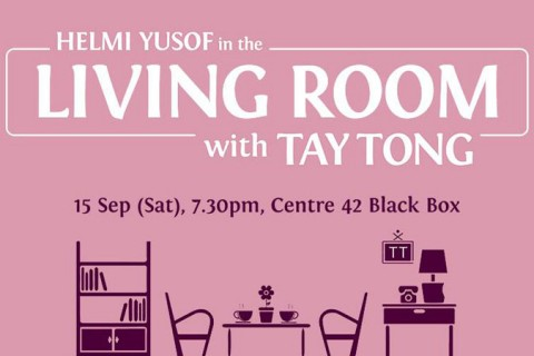 Helmi Yusof in the Living Room with Tay Tong
