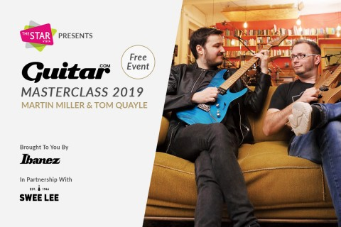 Martin Miller and Tom Quayle guitar masterclass at Star Vista