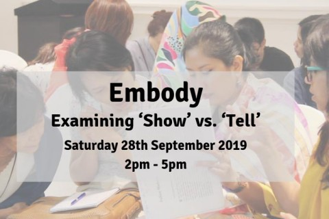 Embody: Examining 'Show' vs. 'Tell'