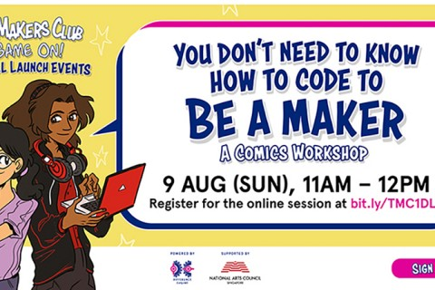 You don't need to know how to code to be a Maker: A comics workshop