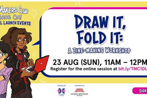 Draw it, fold it: A zine-making workshop