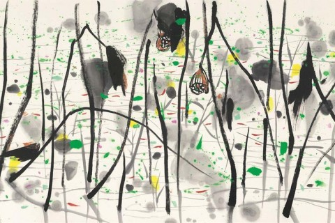 East/West Artistic Dialogue: Chinese Ink - Wu Guanzhong
