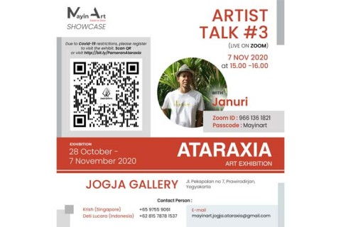 Hybrid Exhibition by MayinArt, 'Ataraxia' closes with 3rd Artist Talk