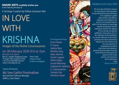 In Love with Krishna: Images of the Divine Consciousness