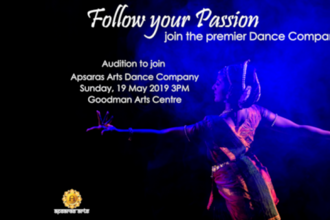 Apsaras Arts Company Dancer auditions