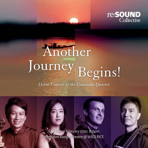Another Journey Begins! - Debut Concert of the Concordia Quartet
