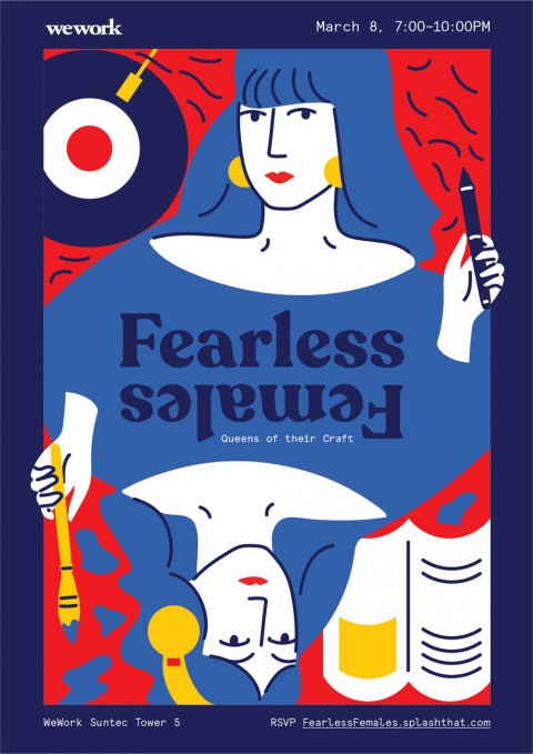 Fearless Females - Queens of their Craft