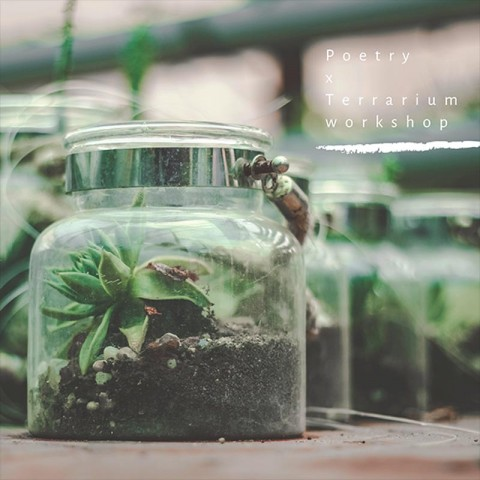 We all step on snails: A Poetry & Terrarium Experience