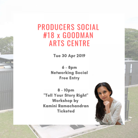 Producers Social #18 x Goodman Arts Centre