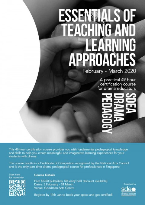 SDEA Drama Pedagogy: Essentials of Teaching and Learning Approaches