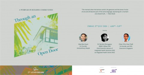Through An Open Door: A Webinar on Building Communities