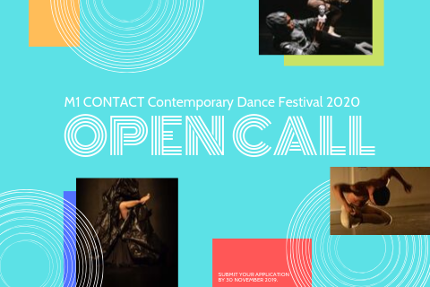 Open Call for M1 CONTACT Contemporary Dance Festival 2020 (11th edition)