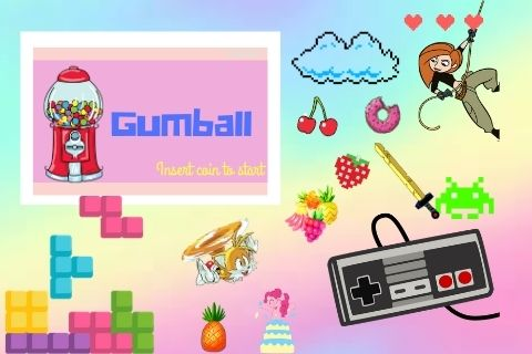 Gumball - an online interactive puzzle/escape room-ish adventure