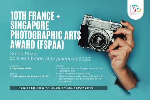 10th France + Singapore Photographic Arts Award (FSPAA)