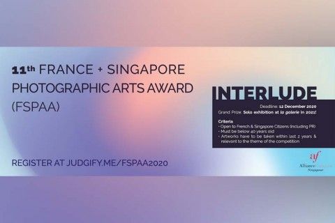 11th France + Singapore Photographic Arts Award (FSPAA)