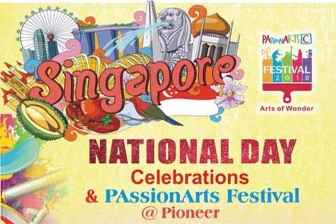 National Day Celebrations & PAssionArts Festival @ Pioneer