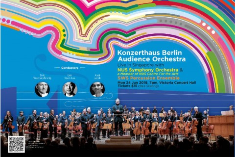 Konzerthaus Berlin Audience Orchestra Live in Singapore with NUS Symphony Orchestra & SWS Percussion Ensemble