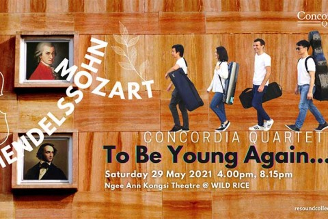 Concordia Quartet: To Be Young Again…