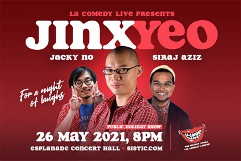 LA Comedy Live Presents Jinx Yeo for a Night of Laughs