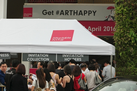 Affordable Art Fair Spring Edition 2017