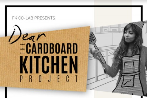 Dear Cardboard Kitchen Project