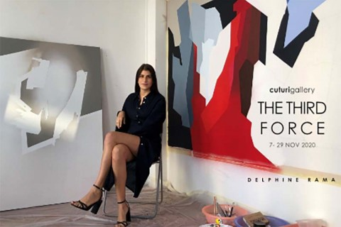 Delphine Rama: The Third Force Solo Exhibition