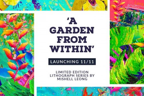 'A Garden From Within' by International Artist Mishell Leong
