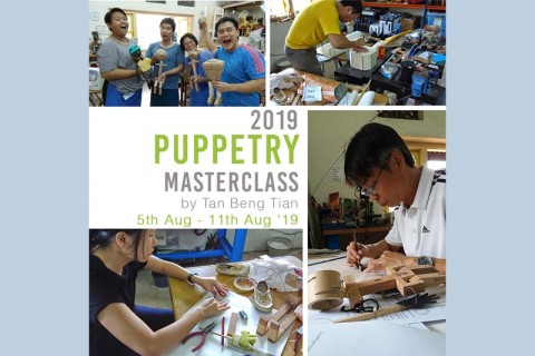 Puppetry Masterclass by Tan Beng Tian