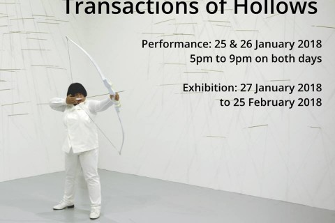 Transactions of Hollows: Live Performance by Melati Suryodarmo