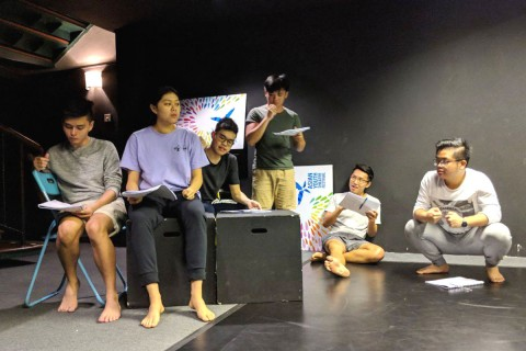 Interview with Adeeb from 2BCo – working with a young playwright on The Old Woman and the Ox